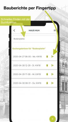 Bautagebuch App für Bauherren