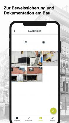 digitale Baudokumentation